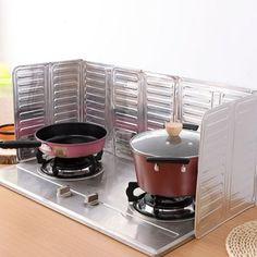 Good Kitchen Oil Splash Guard Cooking Cover Anti Splatter Shield #women, #men, #