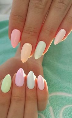 20 Best Pastel Nails Ideas 2018 #nails #pastelnails