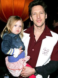 Andrew McCarthy with daughter Willow ...