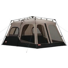 """Coleman 8-Person Instant Tent (14'x10') Coleman """"pop up"""" tent sets up (2 people) in less than a minute."""
