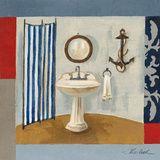 Nautical Bath I Arte por Silvia Vassileva