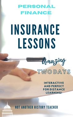Enhance your personal finance class with this two-day insurance lesson! Your students will be engaged in these economic lessons about all of the types of insurance, including car and health insurance. Students will see real-world examples and how to apply their knowledge in real life. Perfect for distance learning!