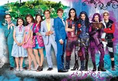 I am so excited for Descendants The Descendants, Disney Descendants Movie, Descendants Characters, Disney Channel Movies, Disney Movies, Disney Characters, Disney Pixar, Disney Villains, High School Musical