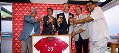 Cerveja Sagres celebra 20 anos de apoio às Selecções Nacionais de Futebol