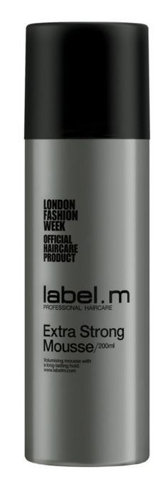 m Extra Strong Mousse Get all over volume, definition and texture with the label.m create coll Fly Away Hair, Product Label, Mousse, Hair Flyaways, Hair Care, Strong, Texture, Create, Hair Care Tips