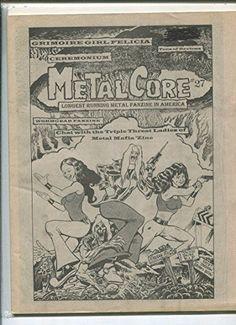 Metal Core #27 Triple Threat Ladies Metal Mafia Zine MBX17