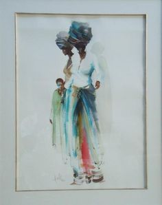 Two Ladies and a Boy Wallace Hulley South African Art, Two Ladies, Art Portfolio, Art Work, Art Gallery, Paintings, Fine Art, Google Search, Artist