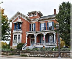 Historic Galena: Little Brick Houses - Town & Country Living