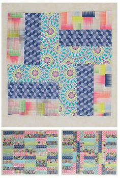 Rail Fence Quilt Block - If you are looking to learn how to make a rail fence quilting pattern, learn how to make the perfect, scrappy quilt block pattern for this classic quilt type. Once you perfect piecing together the Rail Fence Quilt Block, the possibilities will be endless when it comes to creating new and exciting rail fence designers. Combining four smaller blocks of three strips of fabric, these quilt block patterns make a fabulous scrap busting project.