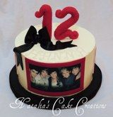 one direction cakes, pretti cake, direct cake