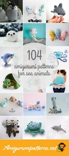 Amigurumipatterns.net has the largest collection of free and premium Sea Animals amigurumi patterns. Click now and discover wonderful crochet patterns!