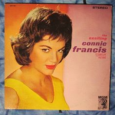 the exciting Connie Francis (1959, Easy Listening ,Vinatge LP Vinyl Record)$15