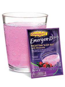Alacer Corp.- Emergen-C ZZZ Mellow Berry 24 paks