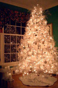 decoracion arboles navidad blanco buscar con google - Arboles De Navidad Blancos
