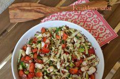 Feniklovy salat Fennel salad