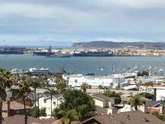 San Diego Bay taken from Little Italy Bankers Hill area. #sandiego #sandiegohomesforsale #sandiegorealestate #sandiegorealtor
