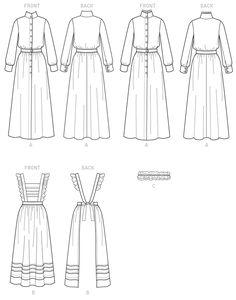 Butterick B6229. Helllloooooo Sophie Hatter dress. :D