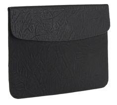 Oversized Envelop Clutch, Black