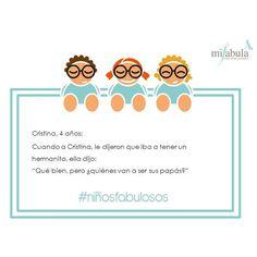 Sonrisas de lunes gracias a la entrañable inocencia de nuestros peques #niñosfabulosos