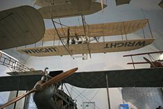 Model of the Wright brothers' aircraft, Deutsches Museum, Munich