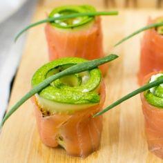 Salmon rolls with cream cheese by veselina_zheleva