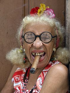 Photograph The crazy lady in La Habana. by matches on 500px