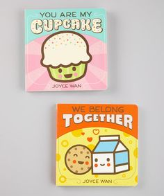 You Are My Cupcake & We Belong Together Board Books