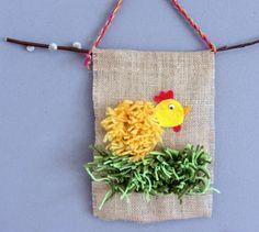 pääsiäistipu Easter Art, Easter Crafts For Kids, Pen Sketch, Mothers Day Cards, Art School, Crafts To Make, Textiles, Spring, Holiday