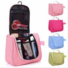 ,Make up organizer bag Women Casual travel bag multi . Travel Toiletries, Travel Cosmetic Bags, Travel Bags, Hanging Cosmetic Bag, Cosmetic Storage, Makeup Storage, Nylons, Bag In Bag, Make Up Organizer