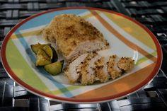 Panko-Crusted Deviled Chicken