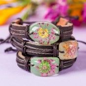 Free Eternal Summer Flower Bracelet