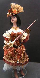 Artisans in Miniature: Steampunk Suzy 2 from Mary Williams Dollshouse Dolls