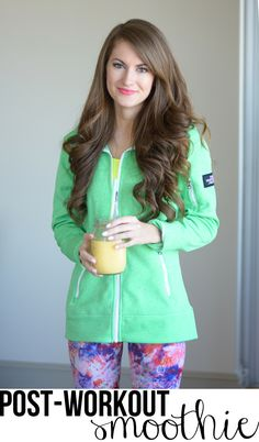Southern Curls & Pearls: Favorite Post-Workout Smoothie Recipe