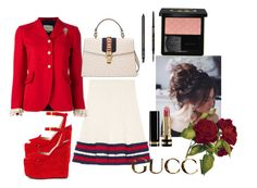 """""""#Gucci #451"""" by vintagelady52 ❤ liked on Polyvore featuring Gucci and Anastasia Beverly Hills"""