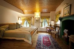 Master suite with super king bed and luxury ensuite. Luxury Holidays, Cottage, Shared Bedrooms, Luxury, Ireland Cottage, Holiday Cottage, Cottage Names, Superking Bed, Luxury Cottage