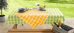 """Outdoor-Tischdecke """"Sonnengelb"""", groß"""