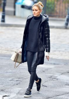 Olivia Palermo Roger Vivier trainers