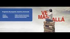 Presentación de la Escuela de Posgrado y su canal de Youtube