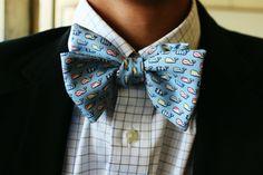 bow tie or no tie
