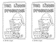 Little Miss Kindergarten - Lessons from the Little Red Schoolhouse!: Ten Littte Presents and One Freebie For YOU!