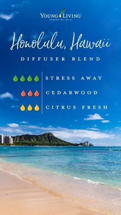 Diffuser blends for 7 cities   Young Living Blog