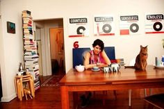 Natalie Wood's Home: Organized Clutter