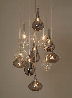 Rhian 12 Light Cluster - ceiling lights - Home, Lighting & Furniture. - Home Decor Home Lighting Design, Interior Lighting, Modern Lighting, Dining Room Lighting, Chandelier Lighting, Chandeliers, Lighting Sale, Room Lights, Hanging Lights