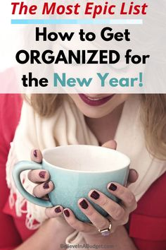 Get organized! Here is an epic list to help organize your life! These are great tips! Organize Your Life, How To Organize, Organizing Your Home, Organizing Tips, How To Make Money, Organising, Staying Organized, Getting Organised, Organized Mom