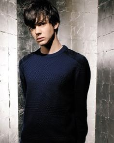 Skandar Keynes aka Edmund Pevensie from the Narnia movies. While everyone was making a big deal over Peter, I liked Edmund much more. I've always liked Edmund better than Peter anyway, pffft.