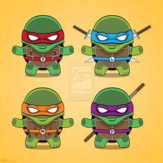 Teenage Mutant Ninja Turtles Tattoos   Teenage Mutant Ninja Turtles T-shirt design by LAckas on deviantART