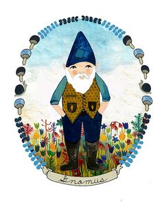 Mr. Gnome | Andrea Lauren
