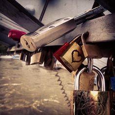 Photo by kenfury  Love Locks #paris  <3