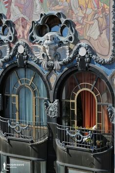 Locations in Budapest: Art Nouveau Balcony