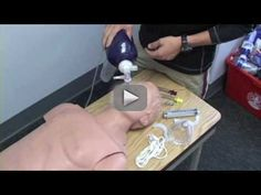EMT Skills, King Airway - This video is provided by the Bellarmine Emergency Response Team, an all volunteer student EMS organization at Bellarmine University.     The Blindly-Inserted Airway Device (BIAD) station is relatively new to the Kentucky state boards. The station can also be completed with a CombiTube if given. Just remember that you can remove the device and try again if the lungs do not properly inflate. Make sure you provide proper oxygen perfusion as well. Emergency Response Team, Emergency Medical Services, Firefighter Paramedic, Emergency Responder, Career Options, Medical Information, Medical School, Ems, Nursing